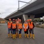 Afterwork: Besichtigung der Baustelle Schiersteiner Brücke